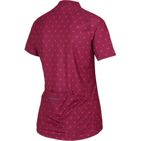 Ziener Cahina Jersey Dames, red dark